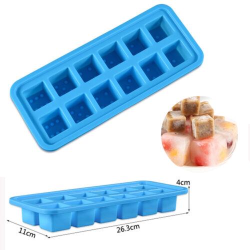 Silicone Ice Cube Tray Mold DIY Fondant Molds Ice Maker Kitchen Bar Tool