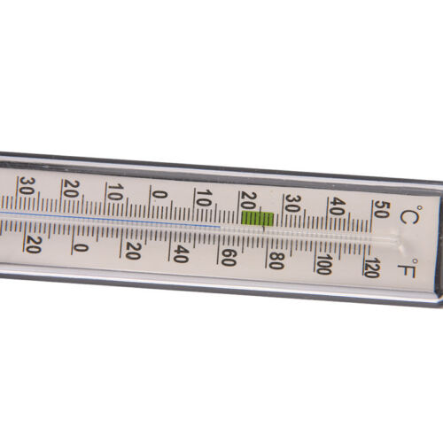 Aquarium fish tank thermometer glass meter water temperature gaugesuction cuJKU