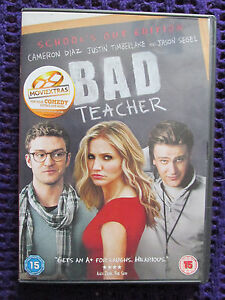 Bad-Teacher-DVD-Cameron-Diaz-Justin-Timberlake-Schools-Out-Edition-Disc-Perfect