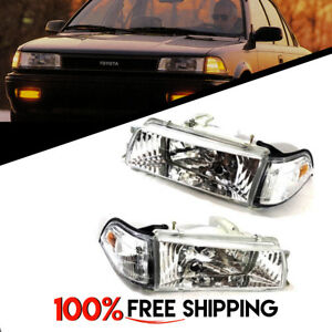 Image Is Loading Toyota Corolla Ae90 Ae92 93 94 Front Chrome