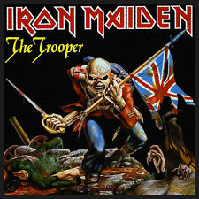 IRON MAIDEN - Patch Aufnäher - The Trooper 10x10cm