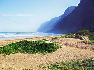 Image Is Loading Napali Coast Beach Hawaii Kauai Cross Sch Chart