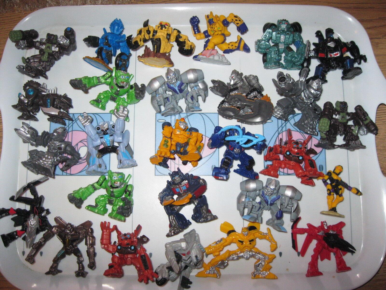 Huge Bundle of Transformer Robot Hordes By Hasbro 27 in Total