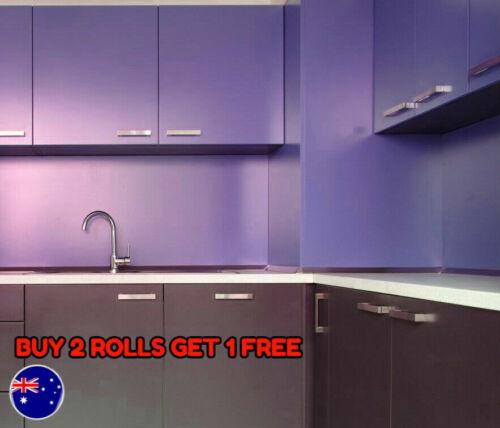 Home Décor Matt Matte Satin Purple, How Do You Apply Vinyl Wrap To Kitchen Cabinets