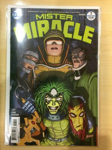 Mister MR Miracle 7 NM Tom King 2018 series CARDSTOCK 7A first 1st print cover