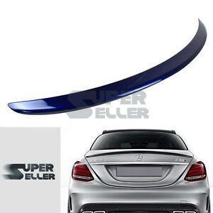 LA Stock Painted #896 BENZ C-Class W205 C300 4D A-Style Trunk Wing Spoiler