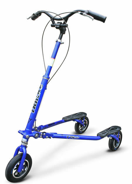 Trikke Tech T78 Deluxe Deluxe Deluxe bluee Brand New Professionally Assembled f1b129