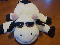 "10"" Caltoy Cow Hand Puppet Plush 10"" Cow Puppet"