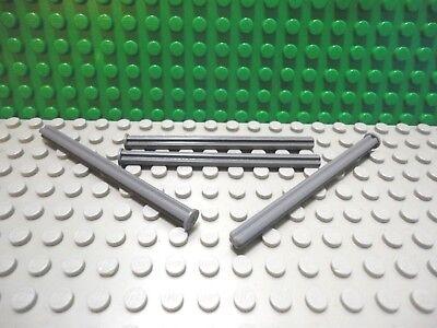 Lego 4 Black technic axle 8L or 2 1//2 inch length