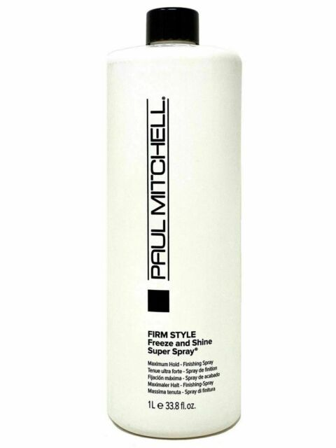 Paul Mitchell Freeze & Shine Super Spray 33.8 oz - 100% Authentic and Brand new
