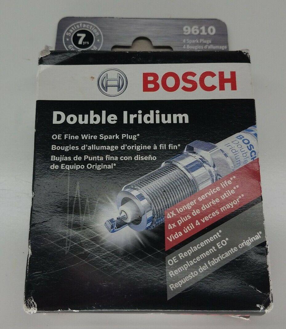 5 X Originale Bosch Bougies d/'allumage double Iridium 0242236605