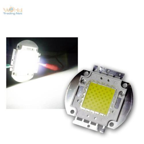 Chip LED 50w HighPower Freddo-Bianco Super Chiaro Power LED Cold White 50 Watt Blanc