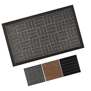 b03bde012395 GRIP MASTER Durable Tough All-Natural Rubber Indoor Outdoor Door Mat ...