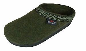 Men's Wool Clog Military