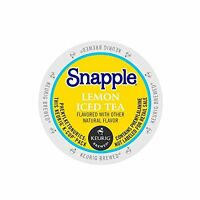 Snapple Lemon Tea K-cups, 22-count, New, Free Shipping