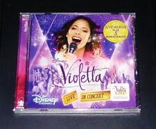 DISNEY VIOLETTA Live in Concert della colonna sonora originale stagione 2 CD NUOVO & OVP