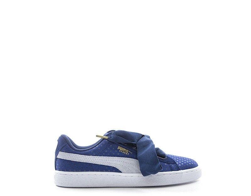 Schuhe PUMA Damenschuhe BLU Scamosciato,Tessuto 363371-001