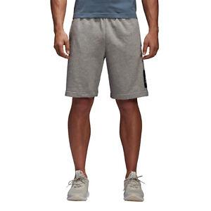 Adidas-Hombre-Shorts-de-entrenamiento-Atletismo-Essentials-Logo-Caja