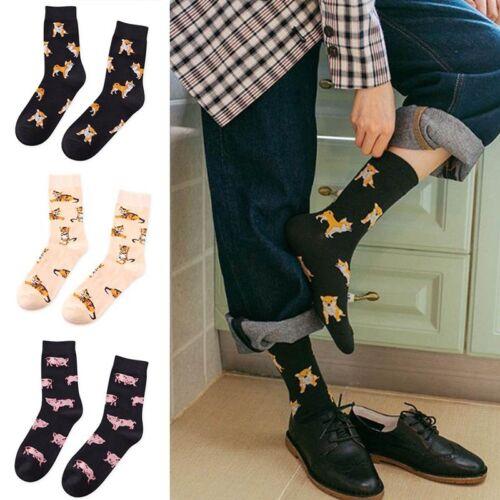 Women Harajuku Japanese Socks Cartoon Cat Dog Pig Animal Cotton Warm Socks UK