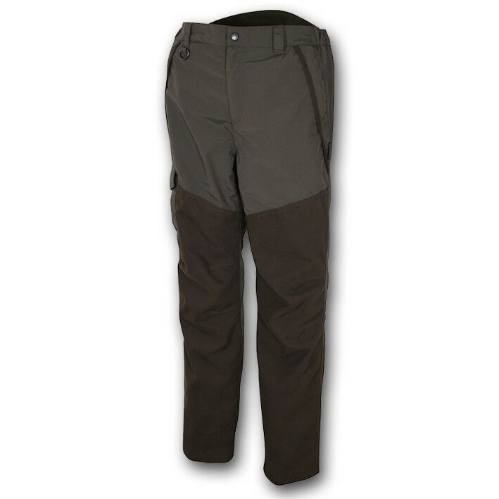 Jack Pyke Ashcombe Pantalones Marrón verde Caza, Tiro Pesca Aire Libre