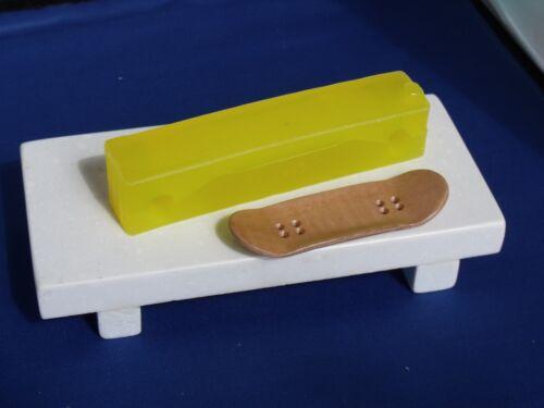 wooden fingerboard skateboard Gator mold GM1125H  tech finger board deck toy