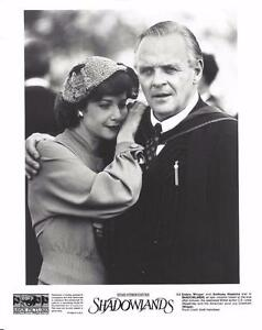 "Anthony Hopkins, Debra Winger, ""Shadowlands"" 1993 Vintage ..."