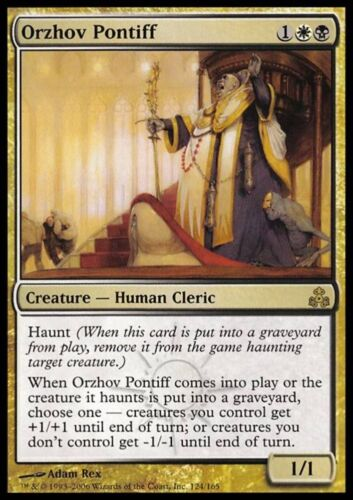 ORZHOV PONTIFF Magic GPT Mint PONTEFICE ORZHOV