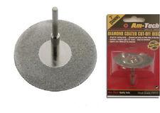 "2"" Diamond Coated Cut Off Disc Multitool Grinding Metal Cutting Wheel Fine Kit"