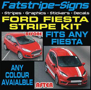 Ford-fiesta-MK7-St-rayas-calcomanias-graficos-de-vinilo-Coche-Carreras-Pegatinas-1-6-Zetec-T