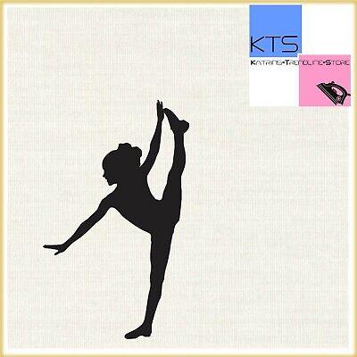 ao49 Ballettschuhe Tanzen Ballett Aufnäher Bügelbild Applikation Kinder Flicken