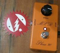 MXR Phase 90 Script Reissue Phaser Phase Shifter Guitar Effects Pedal