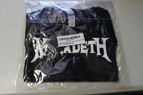 MEGADETH  Unisex Baby Romper Bodysuit~Black