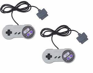 2-X-Manette-SNES-Super-Nes-controleur-pour-Super-Nintendo