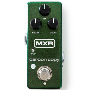 MXR M299 Carbon Copy Mini Analog Delay Guitar Effects Pedal