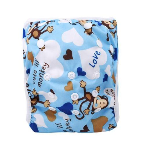 Reusable Leakproof Washable Adjustable Toddler Cover Swim Nappy Diaper T