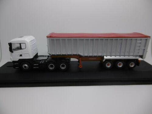 OXFORD  Heavy Haulage SCANIA 6x4 TRUCK  MODEL /& Tipper Trailer Code 3 1:76 scale