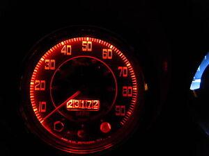 Land-Rover-Serie-1-2-2a-Rojo-Bombillas-Luz-de-Tablero-led-E10