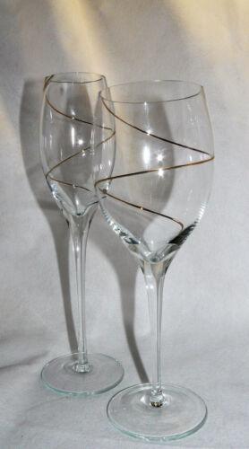 Leonardo Glass Series La Strada Gold Spiral-Various lenses to choose