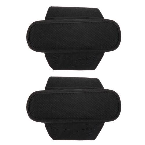 2 Stück gepolsterte Schultergurt Gürtel Kissen für Outdoor Rucksack Sling