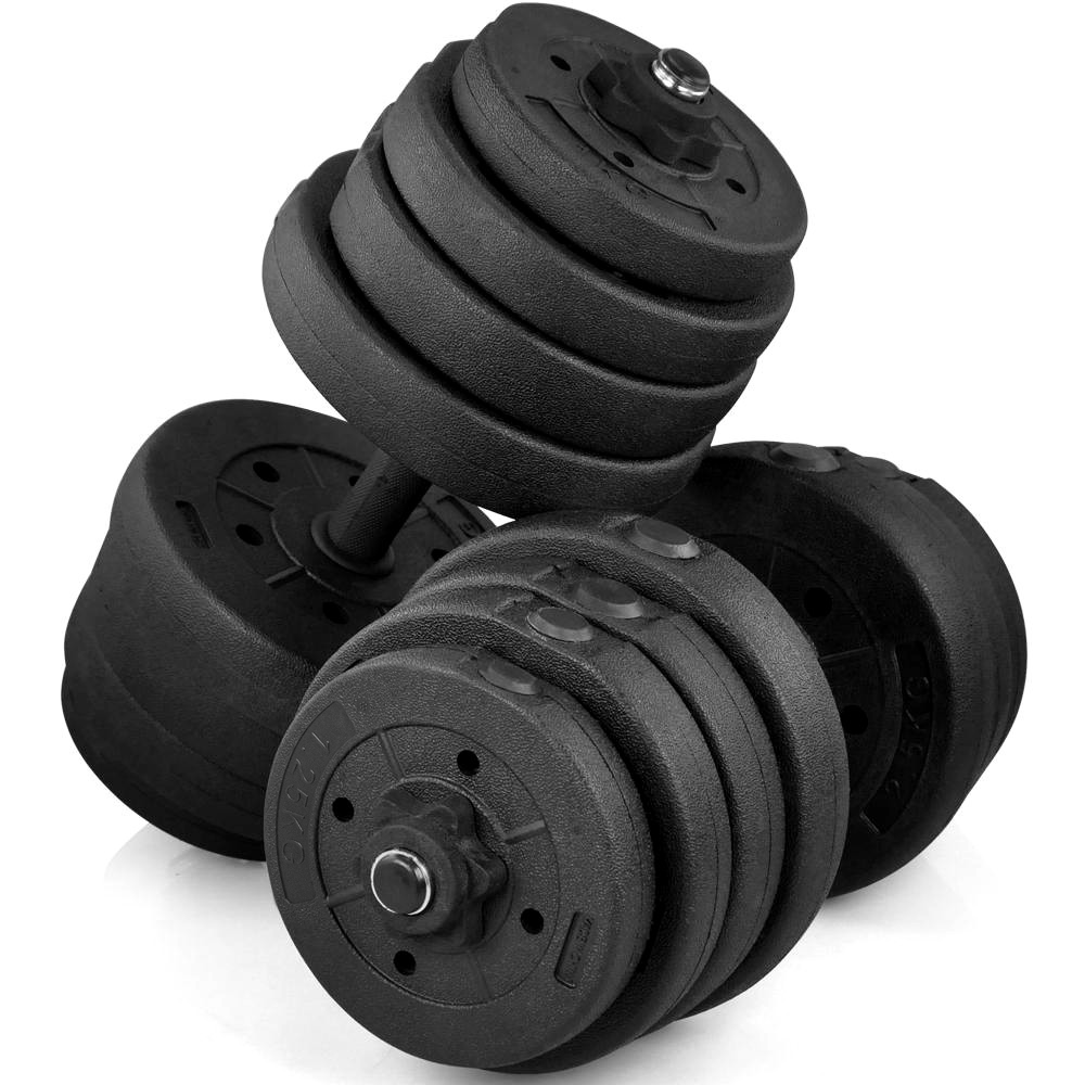 66 Lb Dumbbells Weight Set Workout Body Building Training Gym Home Dumbbell NEW