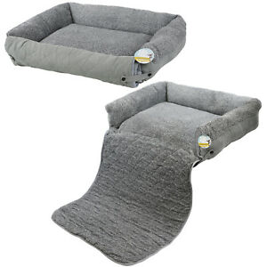 Image Is Loading Me Amp My Pet Quilted Grey Fleece Fold