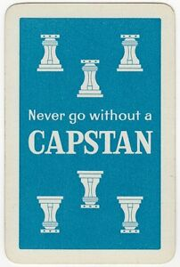 Playing Cards 1 Swap Card Old Vintage Wills CAPSTAN Navy Cut Cigarettes Smoking - Bristol, United Kingdom - Playing Cards 1 Swap Card Old Vintage Wills CAPSTAN Navy Cut Cigarettes Smoking - Bristol, United Kingdom