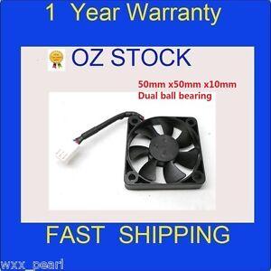 50mmx50mmx10mm-Cooling-Cooler-Case-Fan-Dual-Ball-Bearing-dc-12v-3-pin
