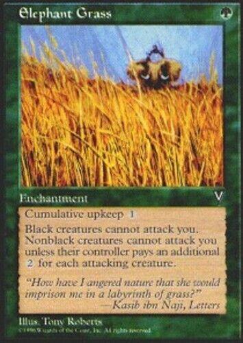1x Elephant Grass NM-Mint Korean Visions MTG Magic