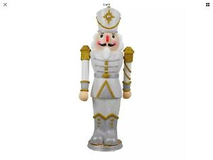 image is loading 36 in animated christmas nutcracker with led illumination - Animated Christmas Decorations Indoor