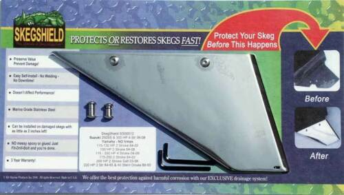 SkegShield Skeg Guard for Yamaha Sterndrives and Outboards Suzuki