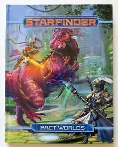 Starfinder-Pact-Worlds-Rulebook-Guide-Hardcover-Paizo-Book
