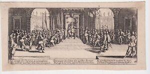 Jacques-Callot-1592-1635-La-distribuzione-delle-ricompense-1633-Miserie-Guerra