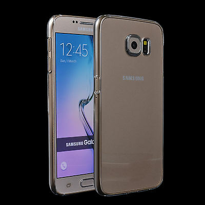 Slim Crystal Clear Transparent Hard Case Cover for Samsung Galaxy S6 S7 Edge+