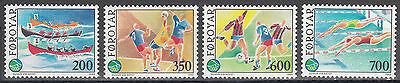 Sportspiele Der Kleinen Inseln Føroyar Färöer Nr 186-189** Intern